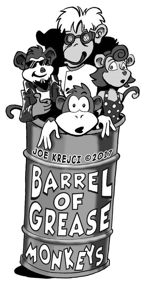 Barrel Of Grease Monkeys